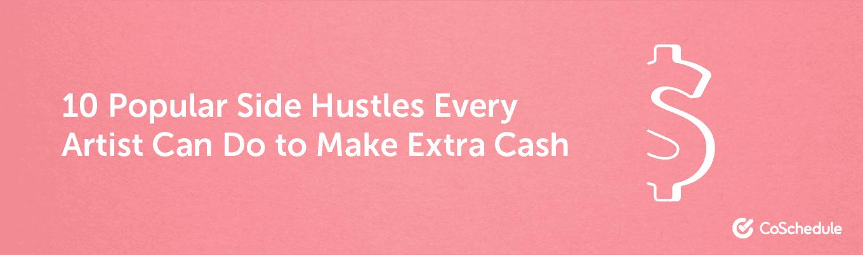 10 popular side hustles headline example