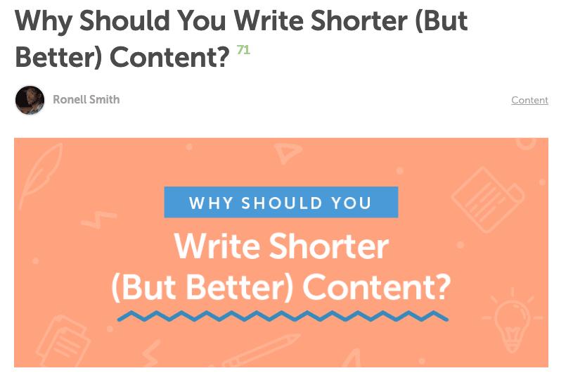 CoSchedule content question headline