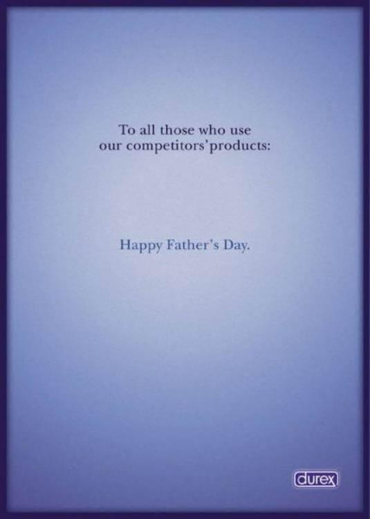 Durex powerful ad headline