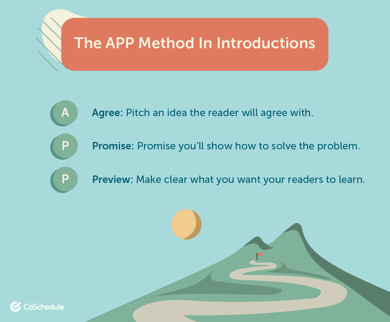 The APP method for introductions