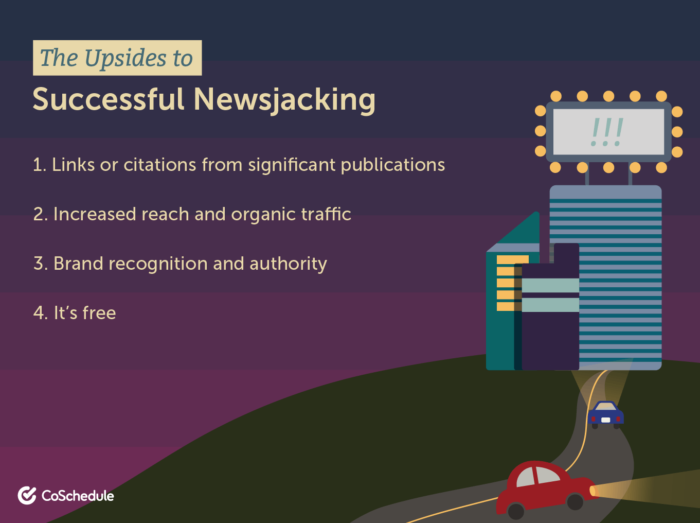 The upsides to successful newsjacking