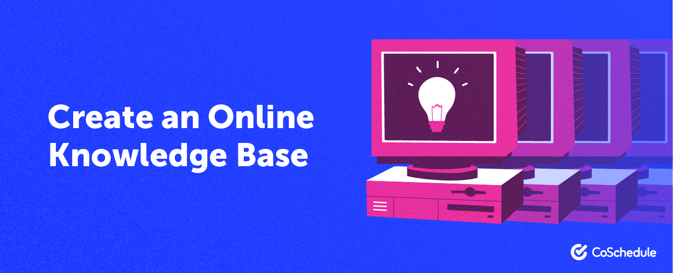 create an online knowledge base