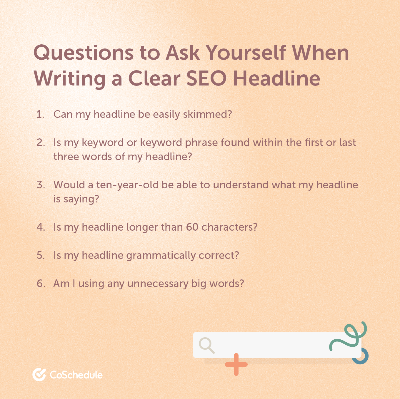SEO headline questions to ask