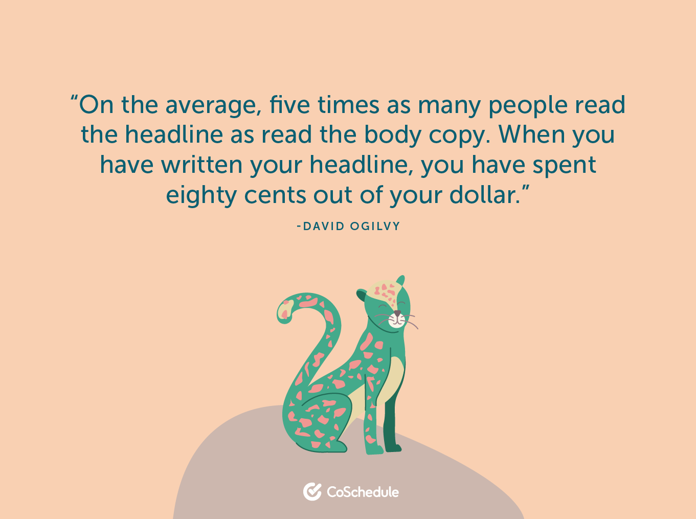 Ogilvy quote on unique content