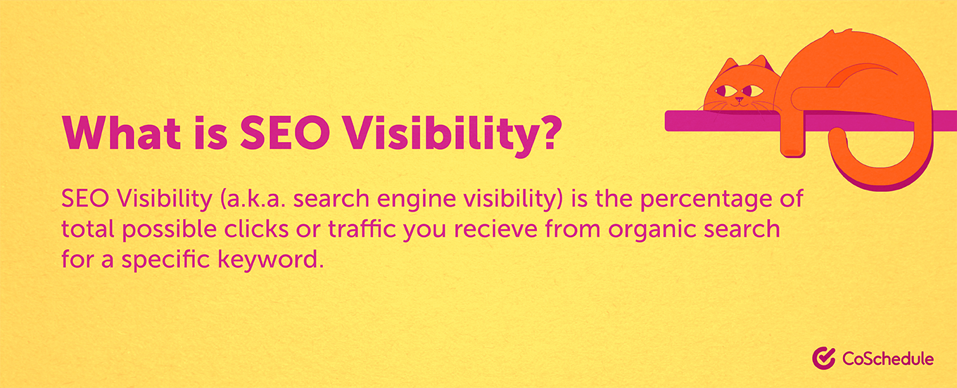 What is SEO visibility?