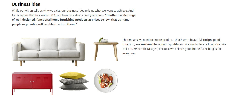 IKEA Business idea