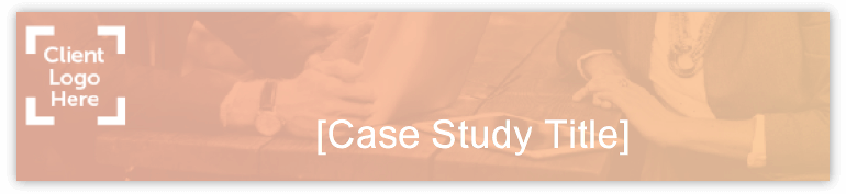 Example case study title in template.