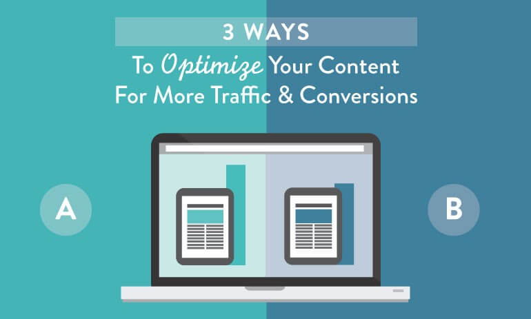how to optimize your content for traffic and conversion