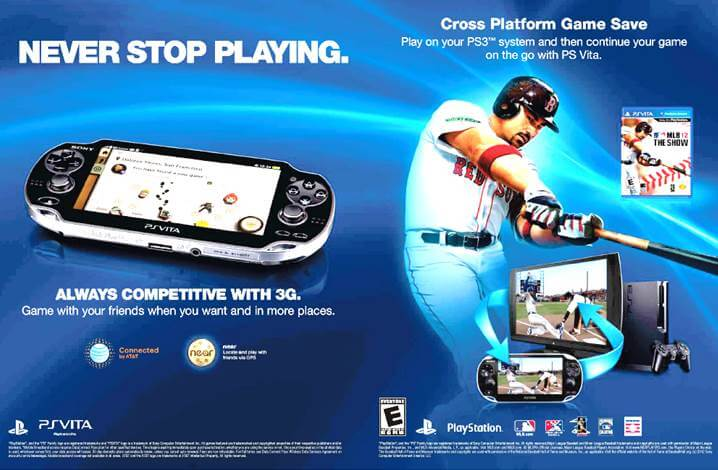 PSVita advertisement example