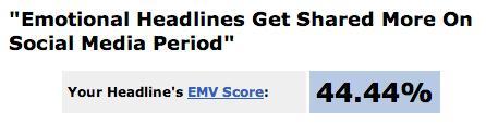 Write more emotional headlines