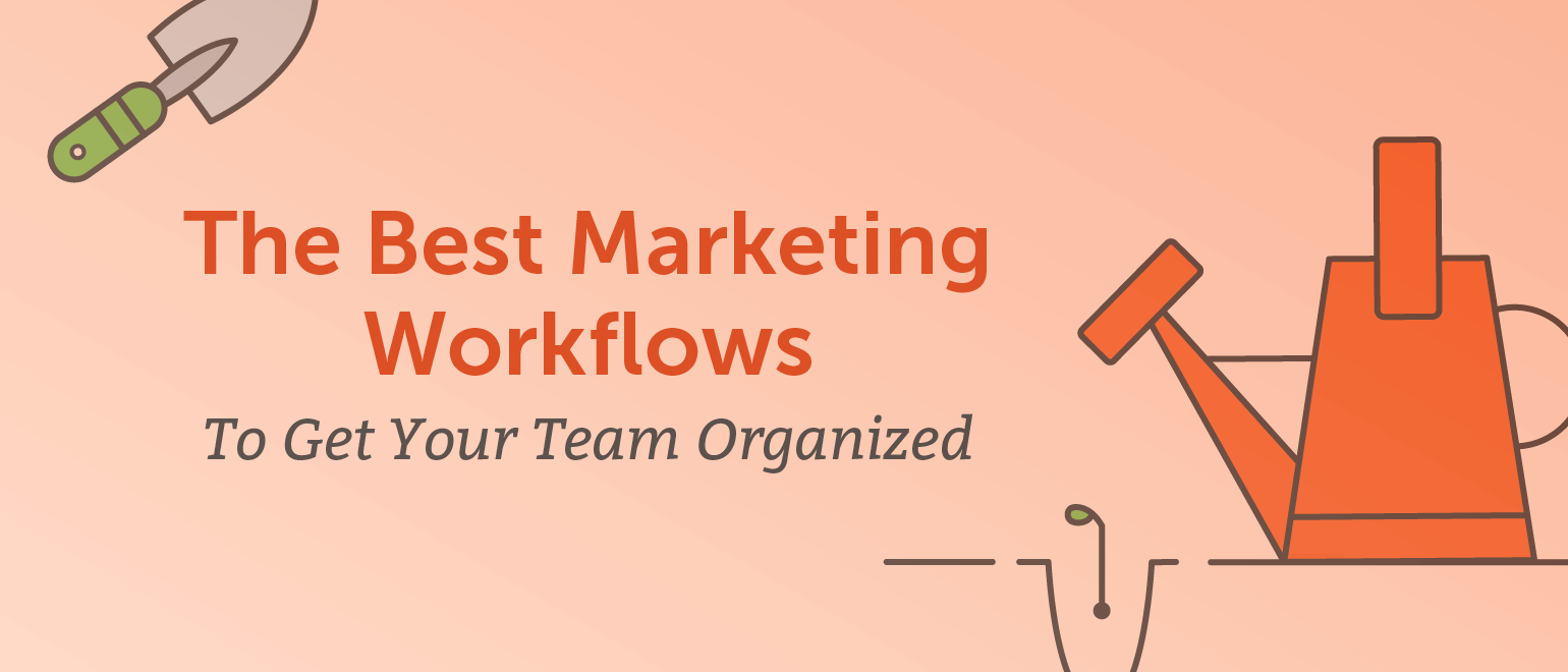 The Best Marketing Workflows to Get Your Team Organized