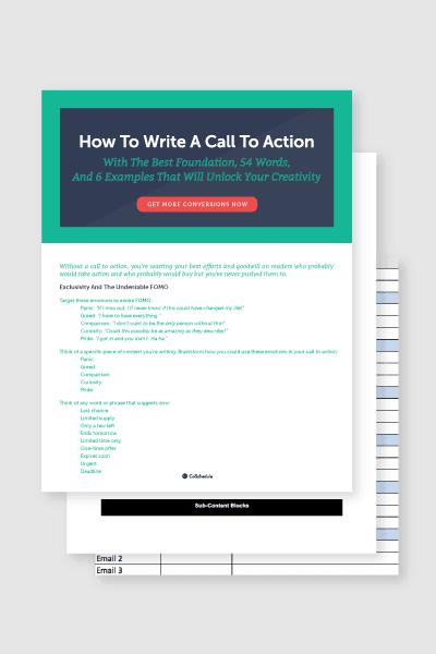 Email Copywriting + Calendar Templates