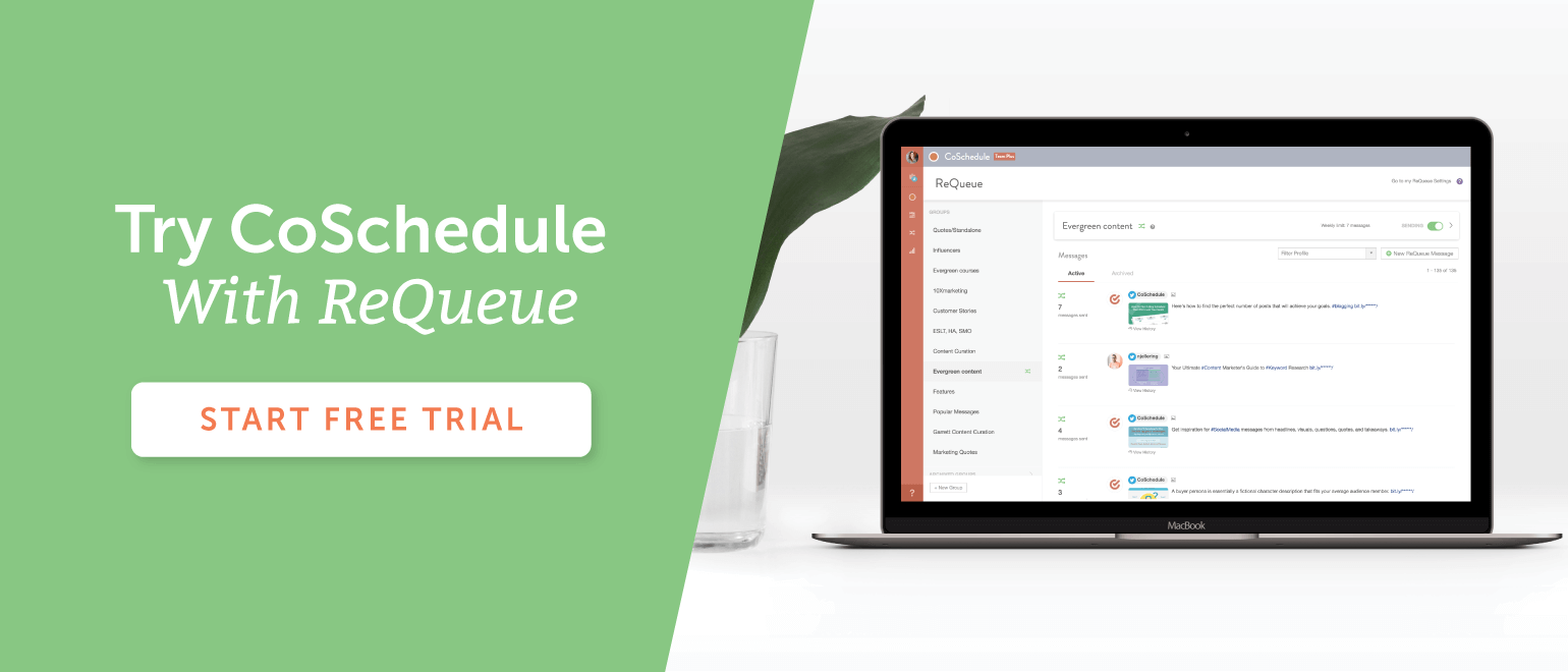 Try CoSchedule With ReQueue