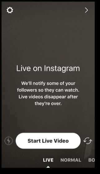 Weekly live videos.