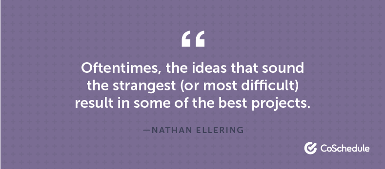 Nathan Ellering Quote