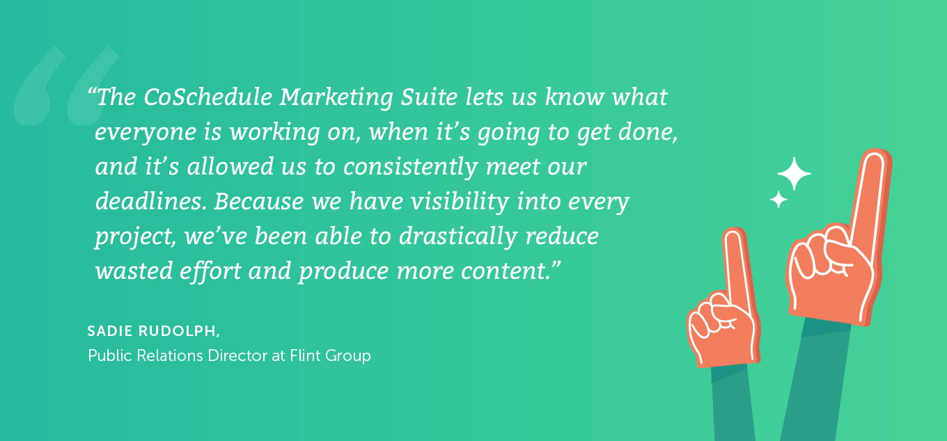 CoSchedule quote