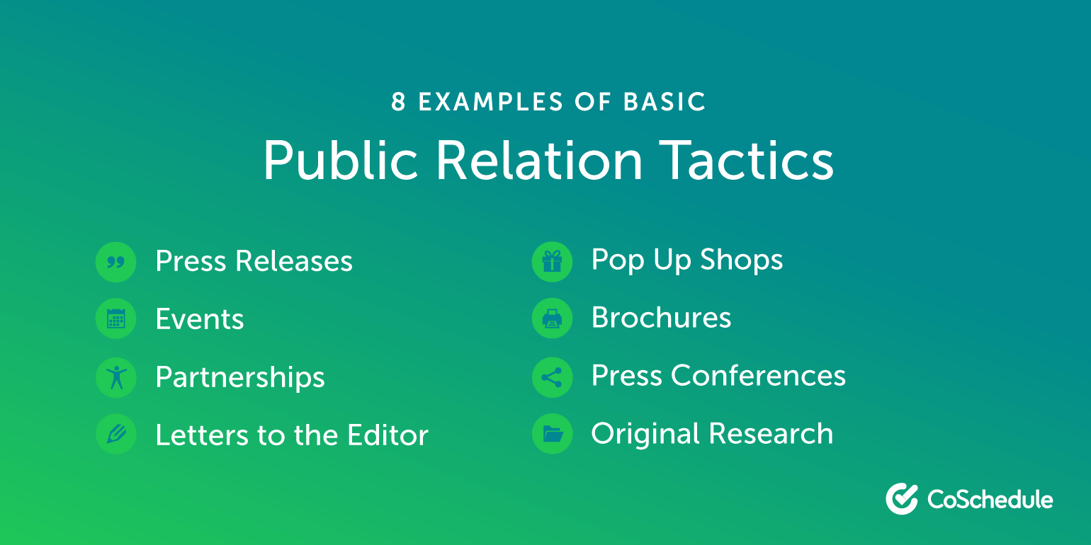 29 Effective Examples of Public Relations Campaigns and Tactics