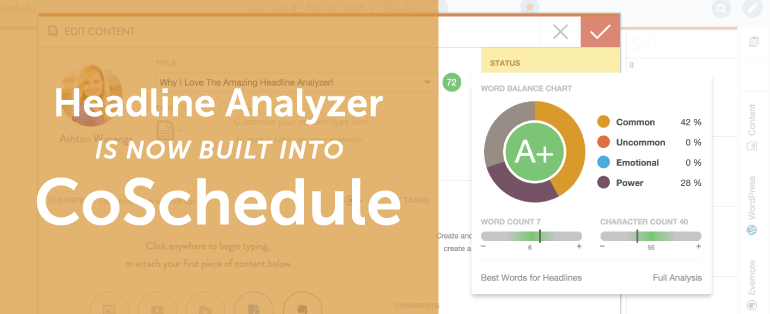 Your Headline Analyzer Is Now Built Into CoSchedule [New Feature]