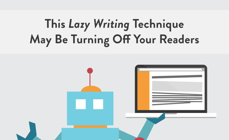 Lazy Writing Techniques