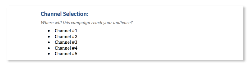 How will you reach your audience?