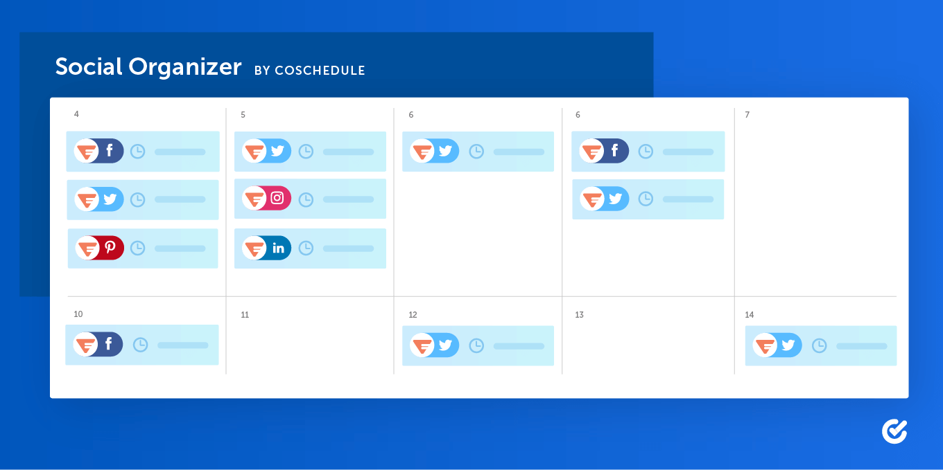 Social Organizer by CoSchedule