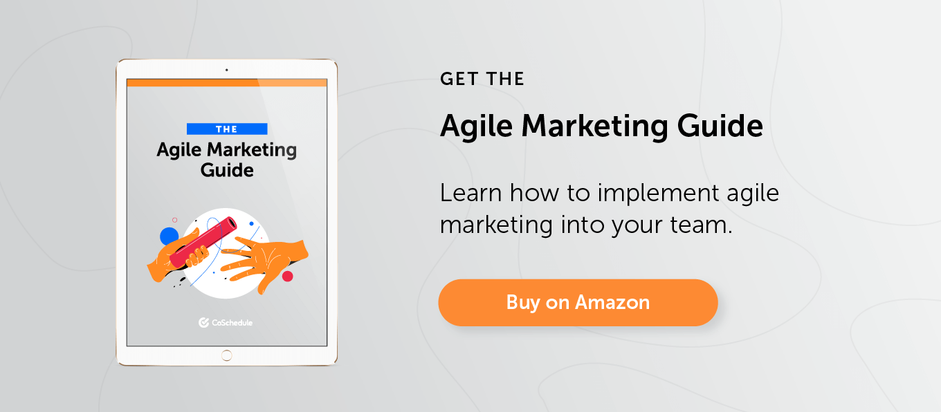 Buy the Agile Marketing Guide on Amazon