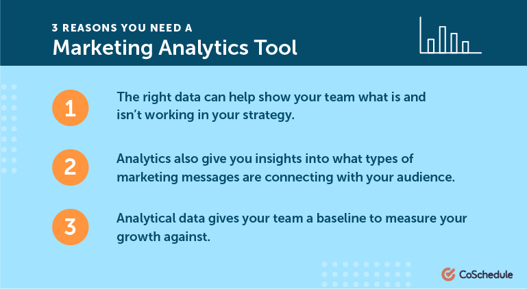 3 Reasons You Need A Marketing Analytics Tool