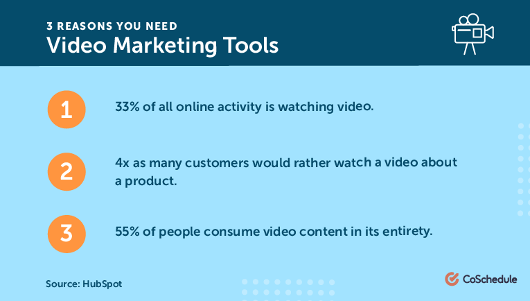 3 Reasons You Need Video Marketing Tools