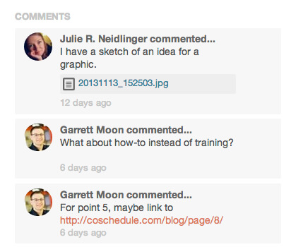wordpress blogging workflow