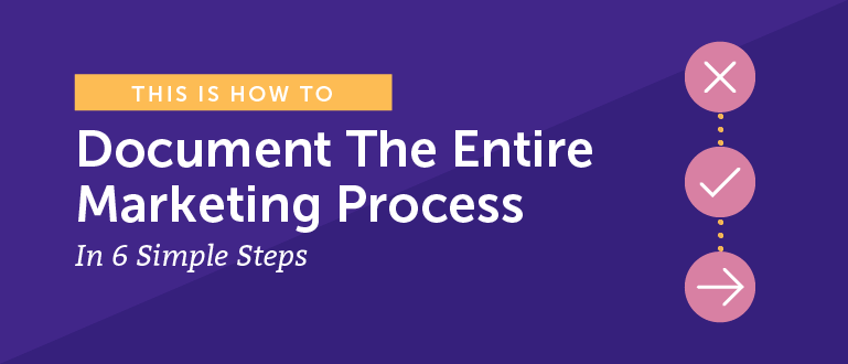 How To Document the Entire Marketing Process In 6 Simple Steps