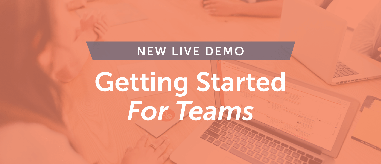 Getting Started For Teams [Demo]