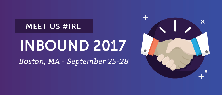 Meet CoSchedule #IRL At INBOUND 2017 in Boston, September 25-28th!