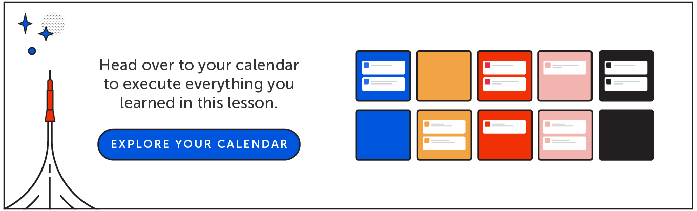Explore your calendar