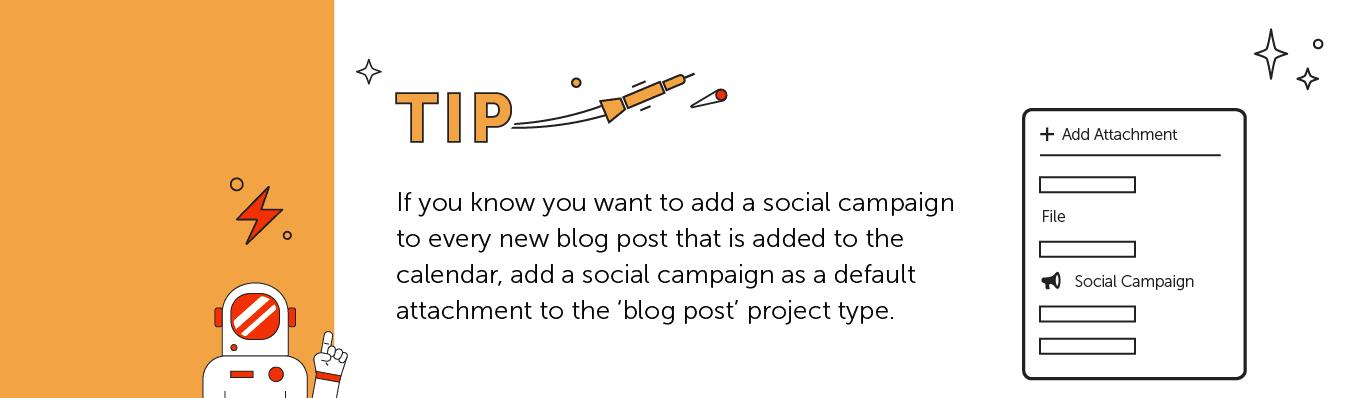 Add social campaign