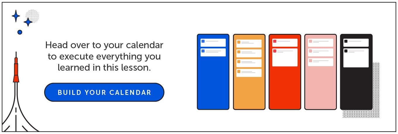 Build Your Calendar