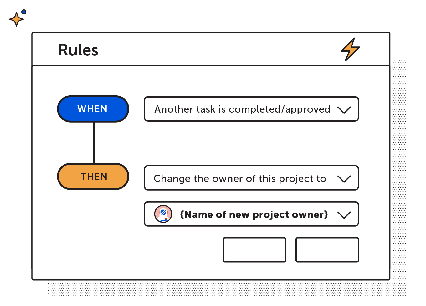 Project owner task rule
