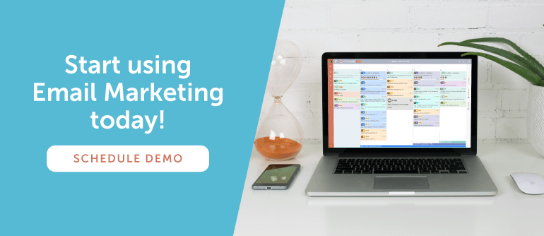 Start using Email Marketing today!