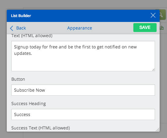 SumMe WordPress Plugin - List Building Tool