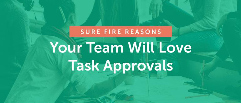 Task approvals
