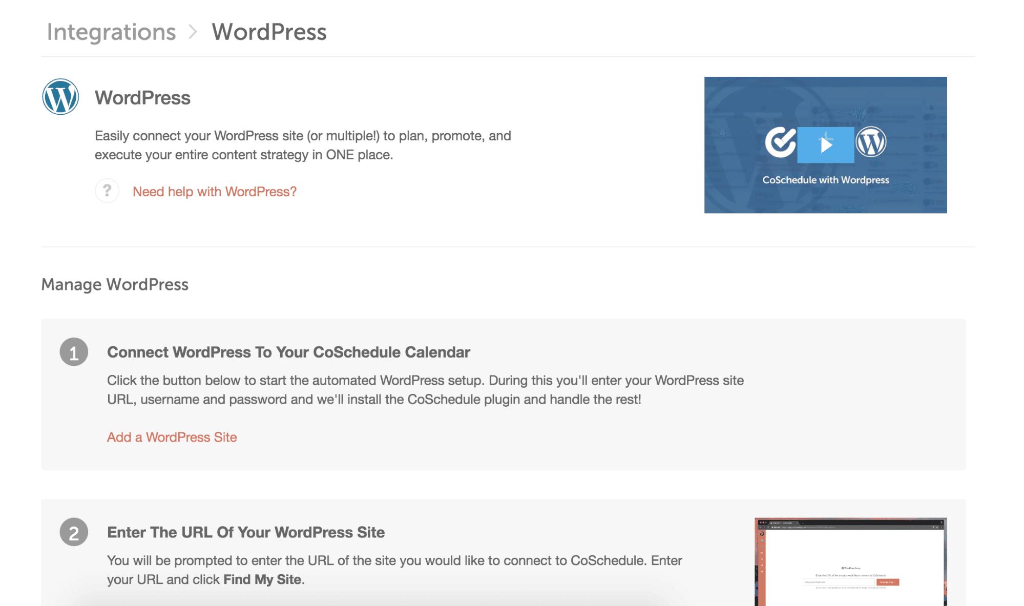 Wordpress prompts