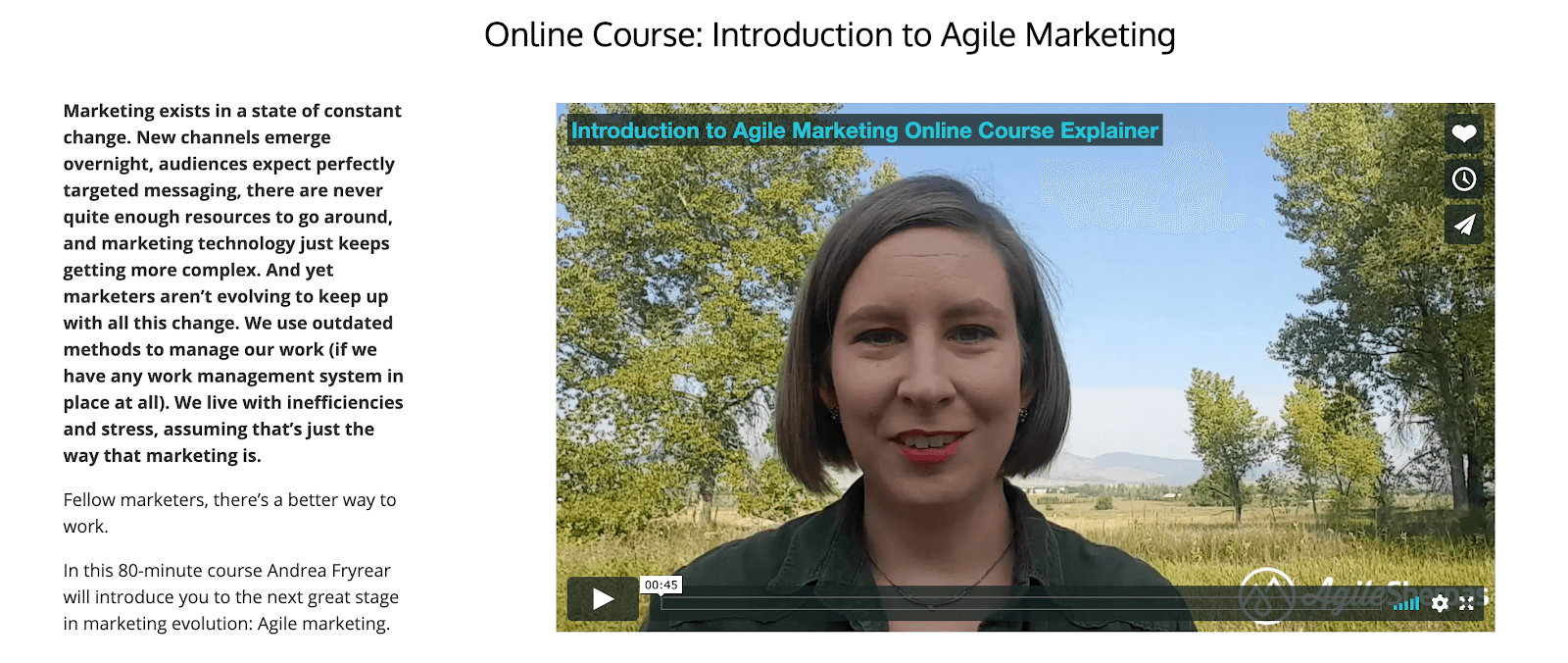 Agile Sherpas Introduction to Agile Marketing