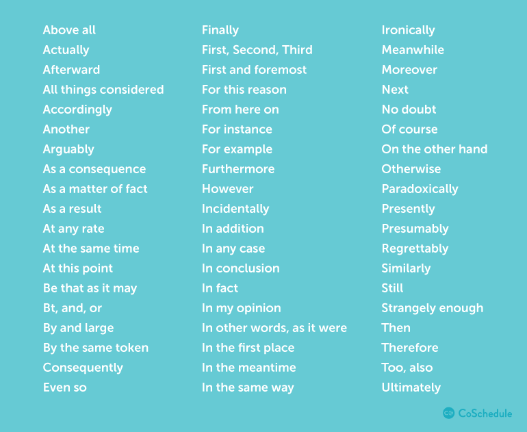 Actionable words
