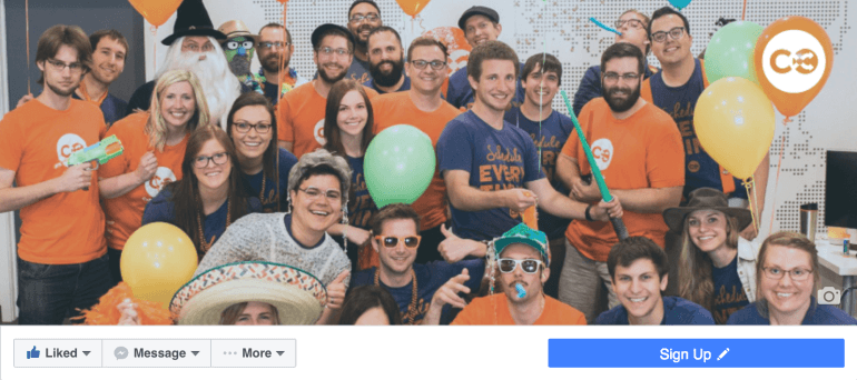 Add a CTA button to your Facebook page