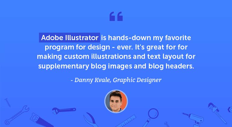 Adobe Illustrator is hands-down my favorite program for design, ever.
