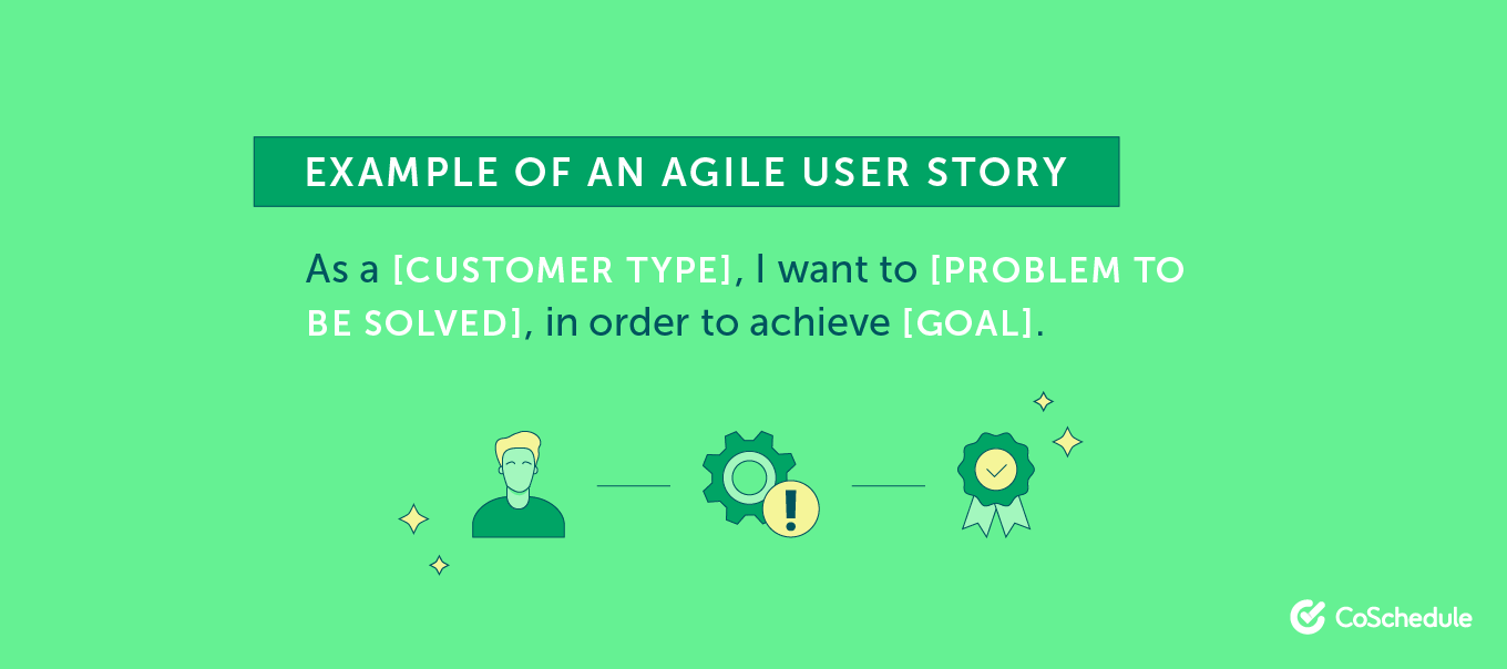 As a Customer Type, I want to Solve Problem ...