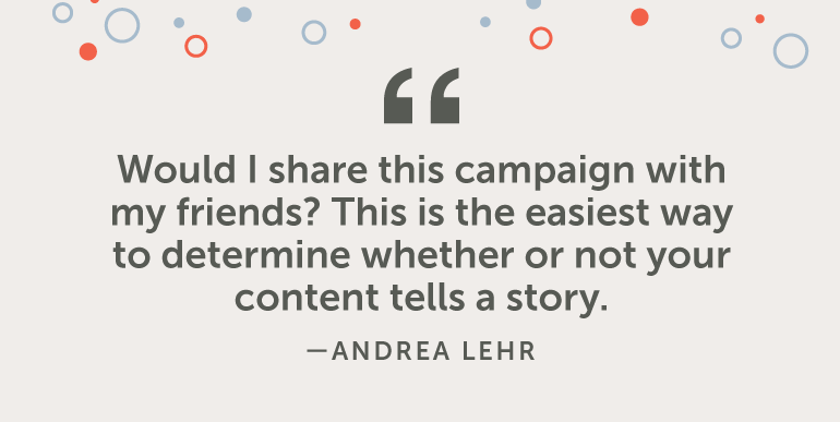 Would I share this campaign with friends?