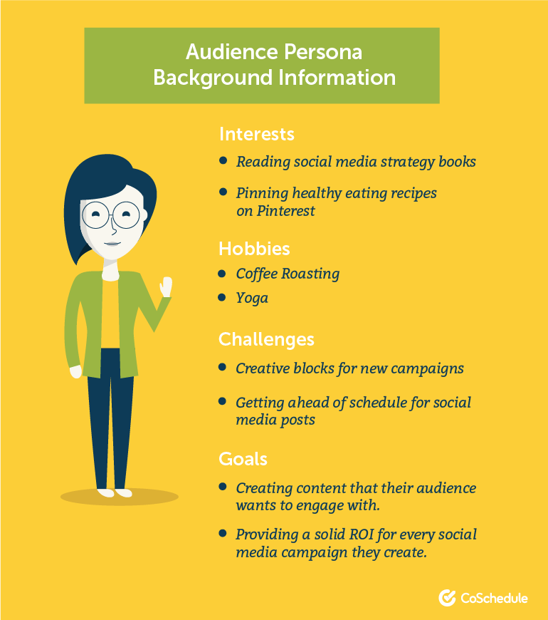 Audience Persona Background Information