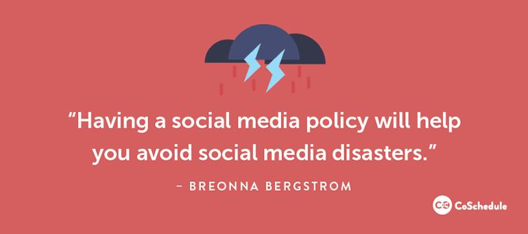 Avoid Social Media Disasters