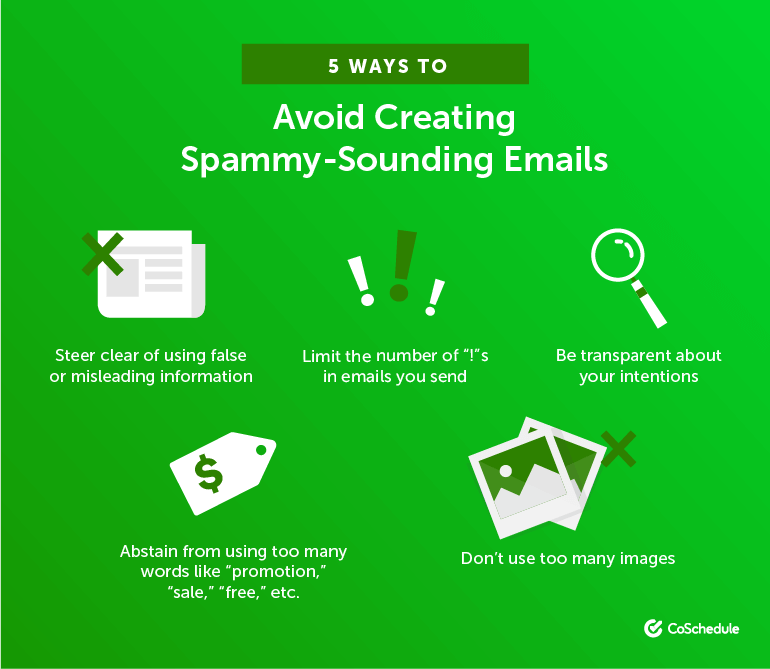 5 Ways to Avoid Creating Spammy-Sounding Emails