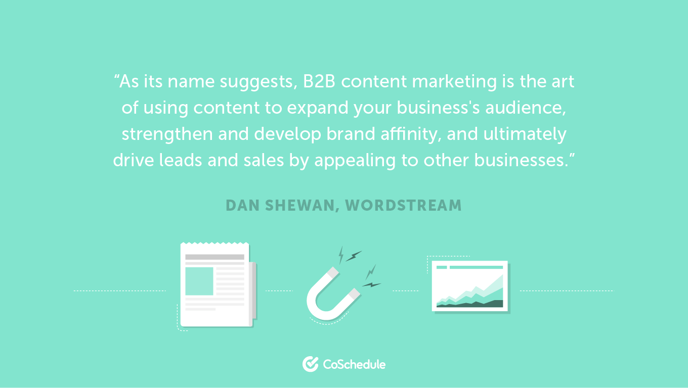 What is B2B Content Marketing?